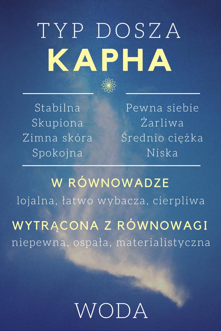 Kapha - typ doszy