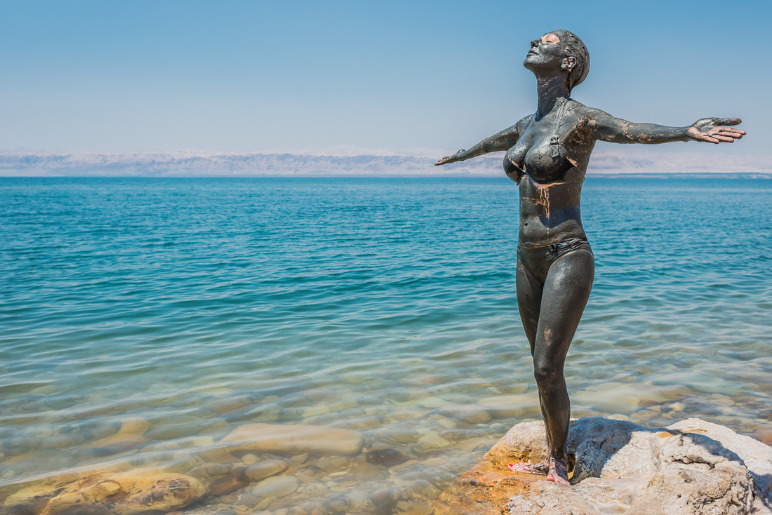 Kuracja w Jordanii nad Morzem Martwym